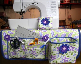 Sewing Mat Organizer Thread Catcher and Pin Cushion ... PDF Tutorial Ebook