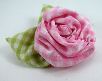 Ruched Roses PDF Tutorial no. 14 ...  includes headband instructions  ... So Easy