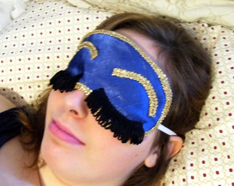 Breakfast at Tiffany's Holly Golightly Eye Sleep Mask Pattern