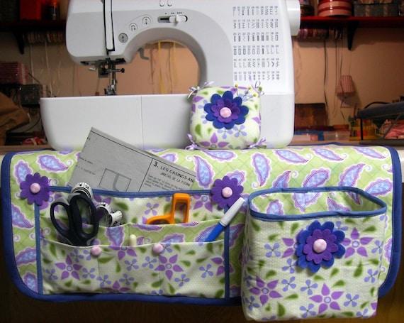 Sewing Mat Organizer Thread Catcher and Pin Cushion ... PDF Tutorial Ebook