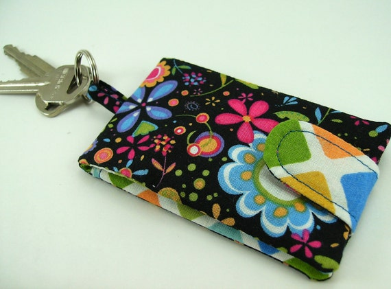 Card Wallet Key Chain PDF Tutorial ... Super quick Super easy