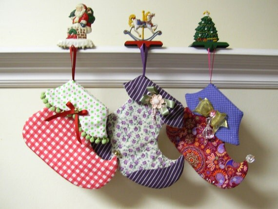 Whimsical Christmas Stocking Sewing Pattern ...  Instant PDF tutorial