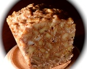 Fruitcake, All Nuts, one pound approximately, walnuts, Brazil nuts, pecans