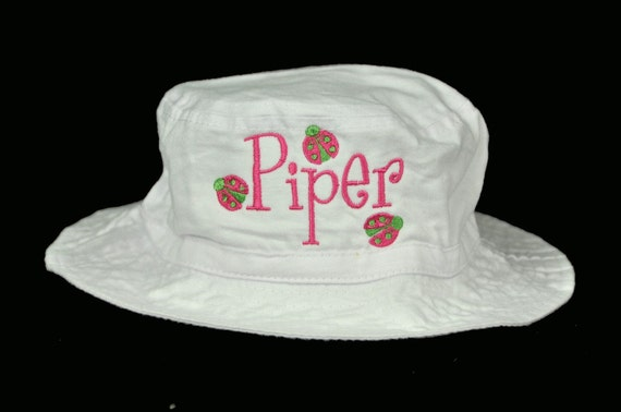 Personalized Sun Hat with Any Name and Design / Baby Toddler Youth Adult Sizes Available / 50+ Designs