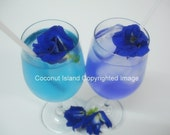 100 Dried Organic Butterfly Pea Flowers