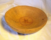 Hand-carved Round Bowl