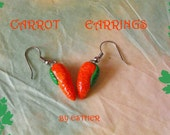 Funky Carrots Earrings