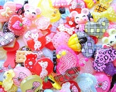 Wholesale Kawaii Cabochons MIX 200 SET S748  DecoSweets