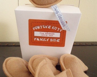 Fortune Cookie Family Size Cat Nip Toy - box of 5
