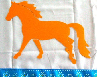 Palomino Pony Horse Shower Curtain in Your Choice of Colors