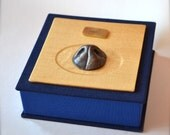 Custom memory box with your dogs bronze nose or paw