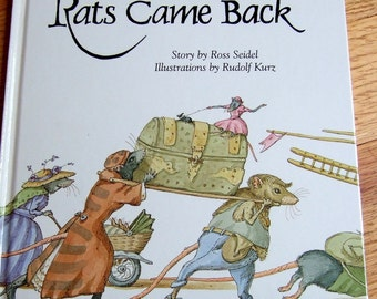 Book - The Rats Came Back - hardcover edition