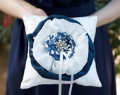 Blue Willow Ring Bearer Pillow