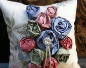 Romantic Garden Ring Bearer Pillow
