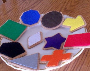 Play Felt Food Smart Cookies  Made To Order