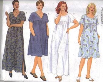 Casual Dress Pattern, Sizes 22W - 26W