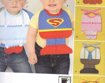 Baby Bibs Pattern, Halloween, Superman, lil girl, elf, princess, witch, businessman
