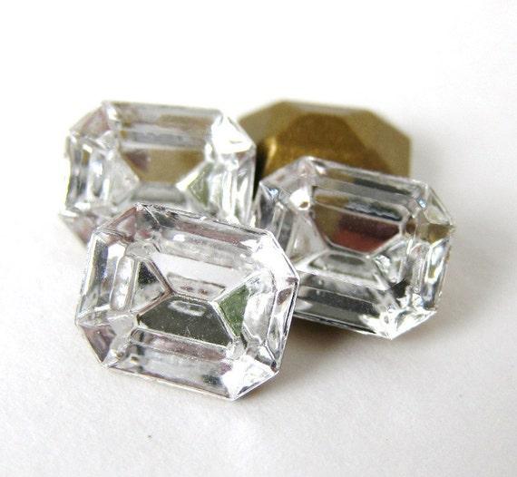Swarovski Crystal Vintage Rhinestone Octagon Jewel 10x8mm swa0226 (3)
