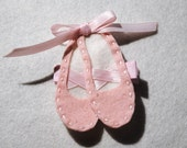 Angelia Ballerina Ballet Slippers Hair Clip