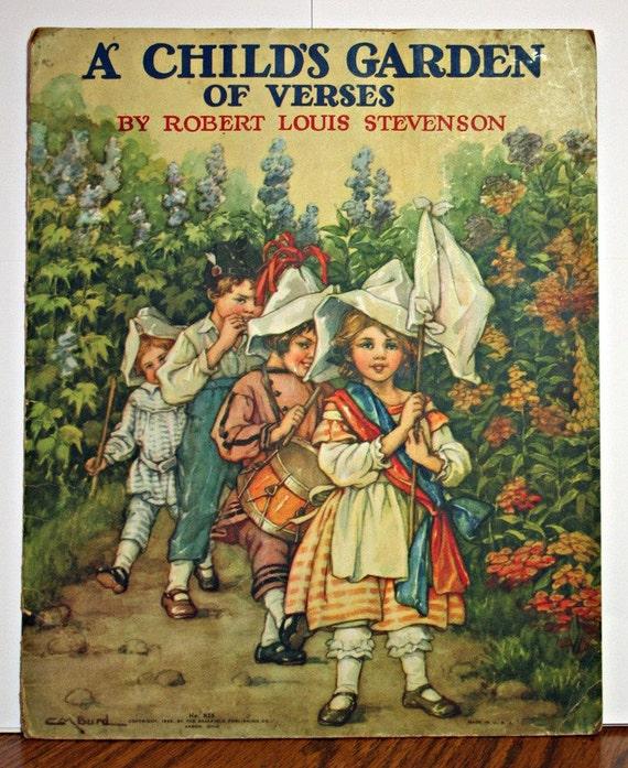 A Child 39 S Garden Of Verses By Robert Louis Stevenson