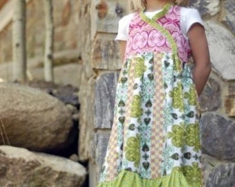 Free Shipping in US -- Kati Cupcake -- Peggy Sue Dress Pattern