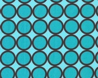 Michael Miller -- Ring Dot fabric -- Turquoise