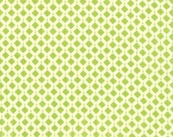 Summer House by Lily Ashbury -- Geometric Belmont Light Green --  Moda fabric