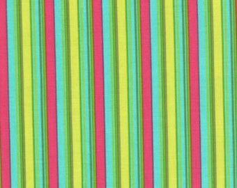 Summer House by Lily Ashbury --Stripes Veranda Multi --  Moda fabric