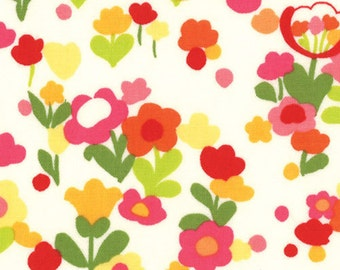 Almost gone Moda Fabric --Oops A Daisy Lazy Daisy Cream