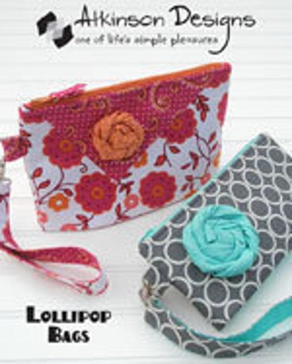 Lollipop bag pattern by Atkinson Designs