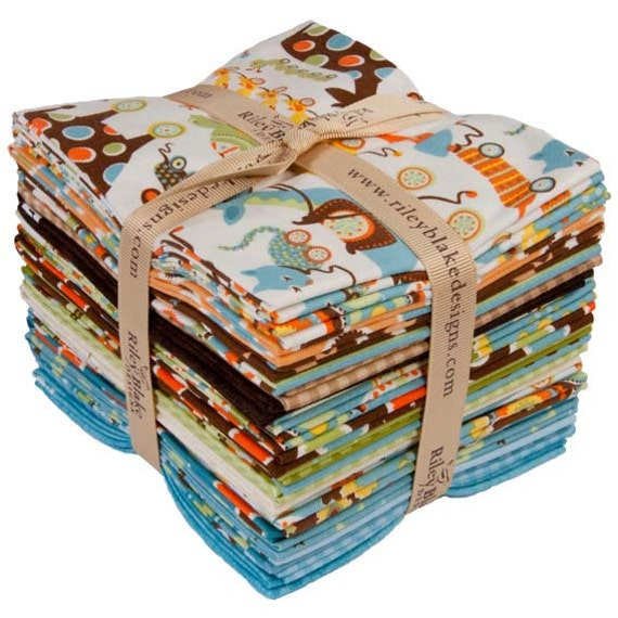 Riley Blake Mod Tod Collection Fat Quarter Bundle