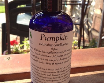 Pumpkin Cleansing Conditioner for improved moisture retention