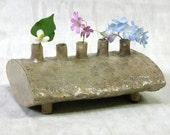 Five Chimneys Flower Vase