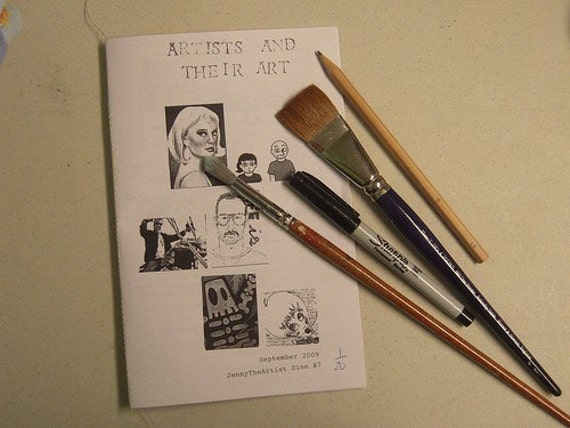 Artists and Their Art Zine