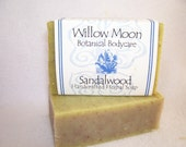 Handcrafted Olive and Shea Butter soap   Sandalwood