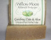 Natural Olive Oil Soap Comfrey Oats and Aloe