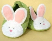 Baby Bunny Slipper - a PDF sewing pattern - 3 sizes