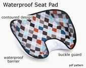 Waterproof Car Seat Pad - immediate download of pdf sewing pattern
