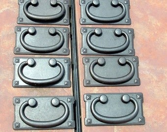 Set of 8 Mission Style  Drawer Pulls