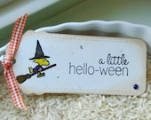 A Little Hello-ween Gift Tags Set of 6