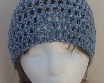 Cool Waters Crocheted Hat