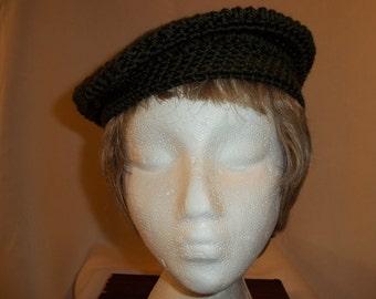 Olivia Crocheted Beret - Small