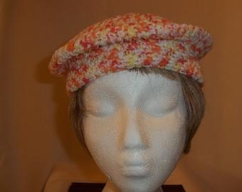 Anastasie Crocheted Beret - Small