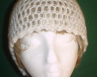 Snowfall Crocheted Hat
