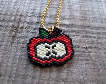 Necklace - My Big Red Apple