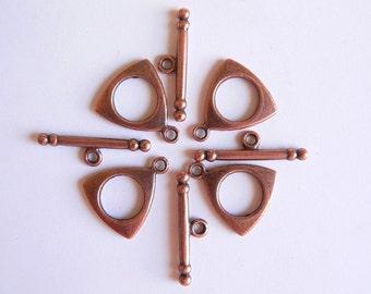 Antique Copper Clasp