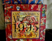 Workman Press Book Calendar for Repurposing - 1995 - Victorian Images on every page - Unused