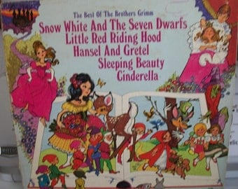4 - Vintage Peter Pan Records -Childrens - 1960s