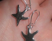 RESERVED for PAULA- Star fish earrings- Handmade for Etsy by DosGringas