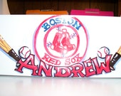 Toy Caddy  - Custom Art - Handpainted and Personalized
